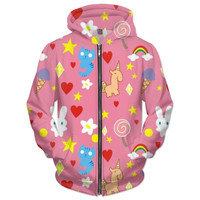 Sugar, Spice And Everything Nice Powerpuff Girls Hoodie