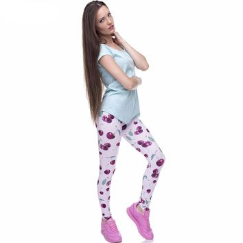 Wild Cherry Leggings