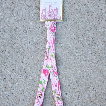 Lilly Pulitzer Sunglass Strap – Pink Colony