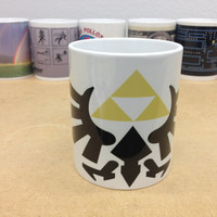 Zelda Triforce Coffee Mug - Custom Printed Coffee Cups - Dishwasher & Microwave Safe