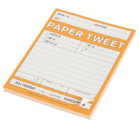 Paper Tweet Notepad | Mod Retro Vintage Stationery | ModCloth.com
