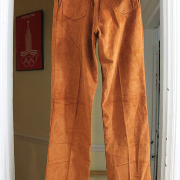 "Levi's Big E New Old Stock Corduroy Pants Size 27"" X 33.5"" USA Made"