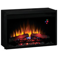 "26"" Spectrafire Plus Electric Fireplace Insert Safer Plug"