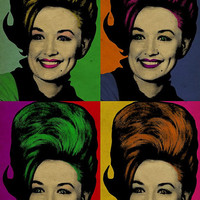 Dolly Parton poster. Pop art. 12x18. Country Music. Kraft paper. Knoxville. Nashville. Tennessee. Art.