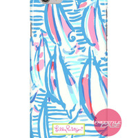 Lilly Pulitzer Resort White Red Right Return Inspired iPhone Samsung Case Series