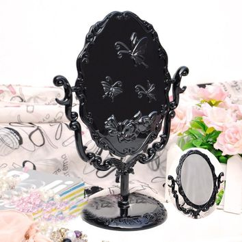 Vintage Royal Makeup Desktop Mirror