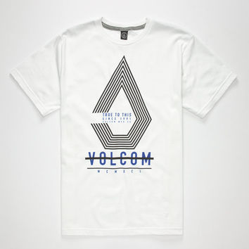 Volcom Satelight Boys T-Shirt White  In Sizes