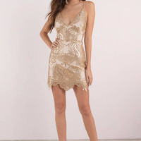 Shine By Me Sequin Dress