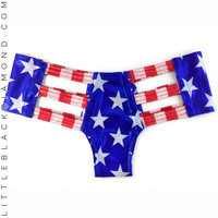 Miss America Cutout Bottoms