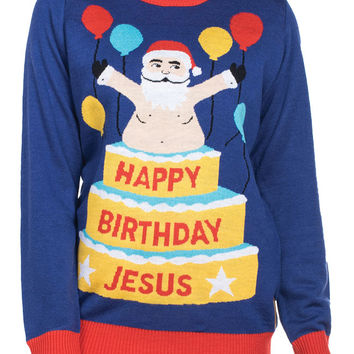 Women's Birthday Surprise Sweater
