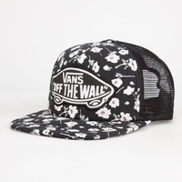 Vans Beach Girl Womens Trucker Hat Black Combo One Size For Women 25969714901