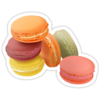 macarons 2 sticker