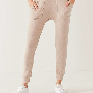 Out From Under Camille Exposed Seam Jogger Pant   Urban Outfitters