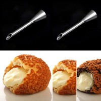 Stainless Steel Icing Piping Nozzles Cream Beak Pastry Puff Cream Injector Cake Nozzle Candy Fondant Tool Cake Decorating Tool