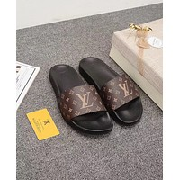 Louis Vuitton LV Fashion Flats Slipper Sandals Shoes