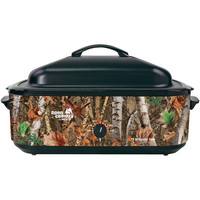Open Country By Nesco Portable 18-quart Woodland Birch Roaster Oven