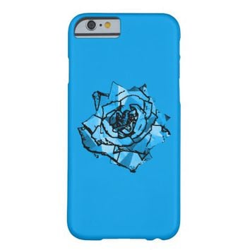 Blue rose barely there iPhone 6 case