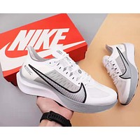 Nike Zoom Gravity Fashion Men Casual Sport Running Shoes Sneakers White&Grey