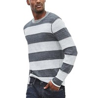 Banana Republic Mens Heritage Plaited Crew Pullover