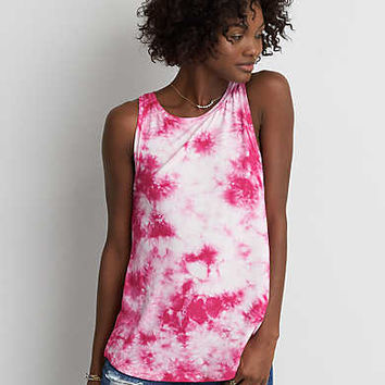 AEO Soft & Sexy Boatneck Tank , Pink