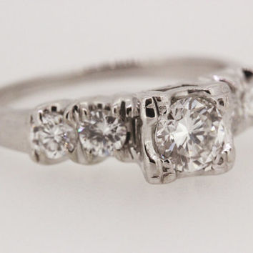 Best 1950s Engagement Ring Products on Wanelo