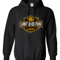 50th Birthday Gift 1964 Limited Edition B-day Hoodie Cool hipster swag mens womens ladies hoodie hooded sweatshirt sweater Unisex - DT-604h