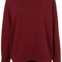 Basic Curve Hem Sweater - Tops - Sale  - Sale & Offers