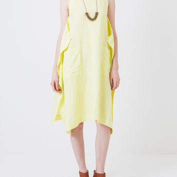 Yellow Sorbet Flick Dress