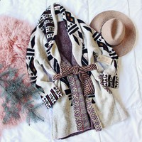 Spool Lux Bundle + Tie Sweater Coat