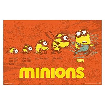 Minions - Evolution 24in X 36in Wall Art Poster