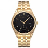 24K Gold Japanese Premium Watch 40mm (50% OFF)