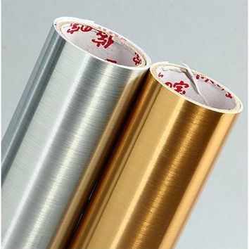 Self Adhesive Metallic Wallpaper For Appliances