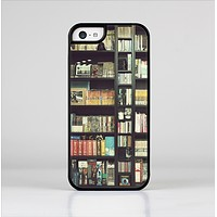 The Vintage Bookcase V2 Skin-Sert Case for the Apple iPhone 5c