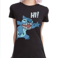 Disney Lilo & Stitch Hi Girls T-Shirt
