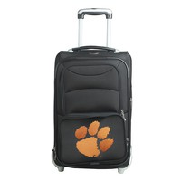 Clemson Tigers 20.5-in. Wheeled Carry-On (Black)