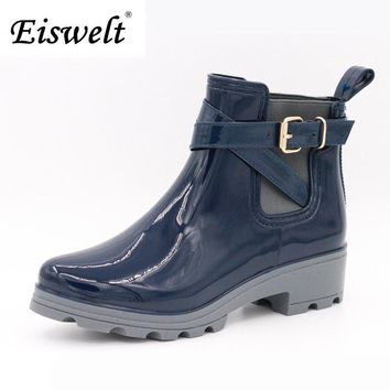 Women Rain Boots For Girls Ladies Casual Walking Outdoor Hunting Waterproof Rubber Sho