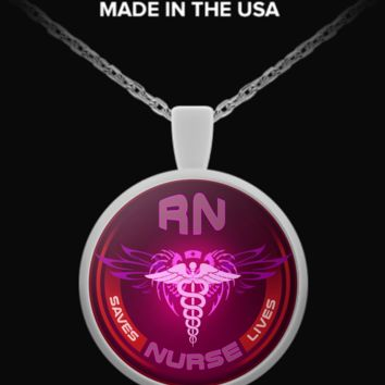 RN Nurse Necklace nursfs5673rtsfscete53