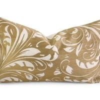 Monaco Gold Accent Pillow
