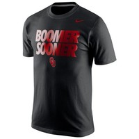 Nike Oklahoma Sooners College Local Cotton T-Shirt - Black