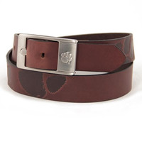 Clemson Tigers NCAA Men's Embossed Leather Belt (Size 42)