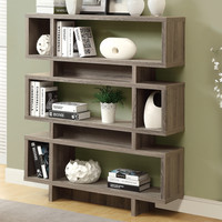 Monarch Specialties Inc. Reclaimed-Look Modern Bookcase