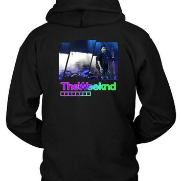 ESBH9S The Weeknd Concert Hoodie Two Sided