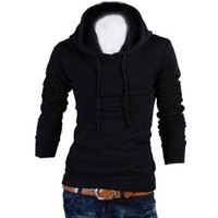 Partiss Mens Casual Slim Fit Hoodies Jacket