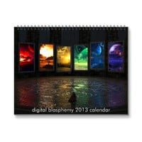 Digital Blasphemy 2013 Calendar [Standard] from Zazzle.com