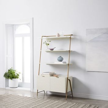 Audrey Wide Storage Bookcase