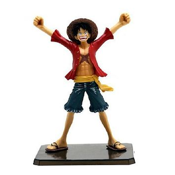 "6"" One Piece Luffy After 2 Years THE NEW WORLD PVC Action Figure Collection Model Toy without Original box Free Shipping"