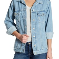 French Connection | Slouchy Denim Jacket | HauteLook