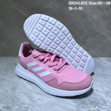 KUYOU A415 Adidas Tubular Defiant Portable Running Shoes Pink