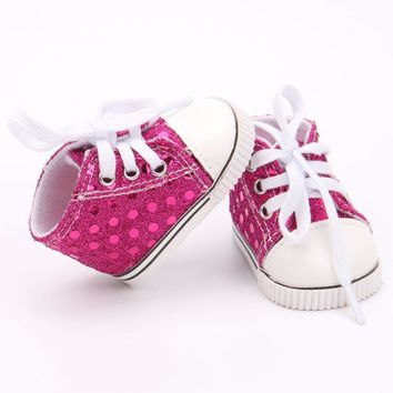 """Doll shoes ,bue sport leisure doll shoes for 18"""" inch american girl doll for baby gift TX-3"""