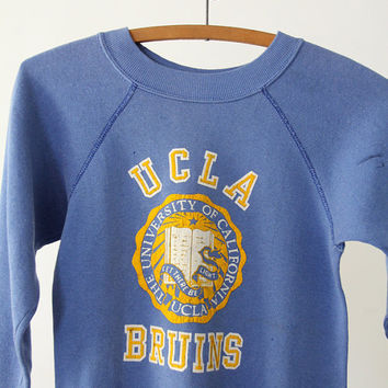 Vintage UCLA Sweatshirt / UCLA Bruins / Small